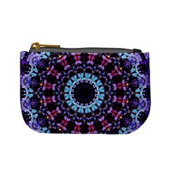 Kaleidoscope Shape Abstract Design Mini Coin Purses by Celenk