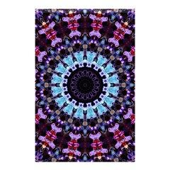 Kaleidoscope Shape Abstract Design Shower Curtain 48  X 72  (small)  by Celenk
