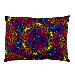 Kaleidoscope Pattern Ornament Pillow Case (two Sides)
