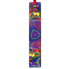 Kaleidoscope Pattern Ornament Large Book Marks by Celenk