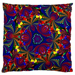 Kaleidoscope Pattern Ornament Large Flano Cushion Case (two Sides) by Celenk
