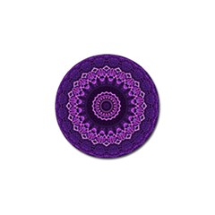 Mandala Purple Mandalas Balance Golf Ball Marker (4 Pack) by Celenk
