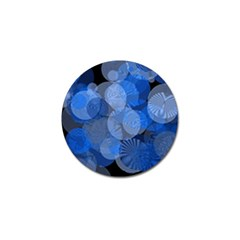 Circle Rings Abstract Optics Golf Ball Marker (4 Pack) by Celenk