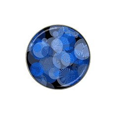Circle Rings Abstract Optics Hat Clip Ball Marker (4 Pack) by Celenk