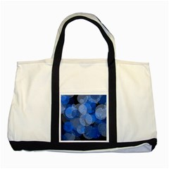Circle Rings Abstract Optics Two Tone Tote Bag by Celenk