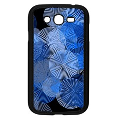 Circle Rings Abstract Optics Samsung Galaxy Grand Duos I9082 Case (black) by Celenk