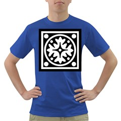 Mandala Pattern Mystical Dark T Shirt by Celenk