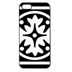 Mandala Pattern Mystical Apple Iphone 5 Seamless Case (black) by Celenk