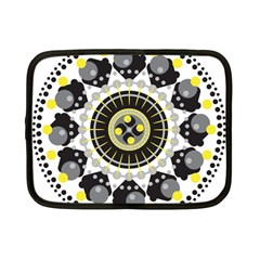 Mandala Geometric Design Pattern Netbook Case (small)  by Celenk