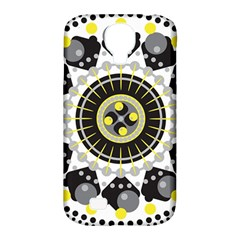 Mandala Geometric Design Pattern Samsung Galaxy S4 Classic Hardshell Case (pc+silicone) by Celenk