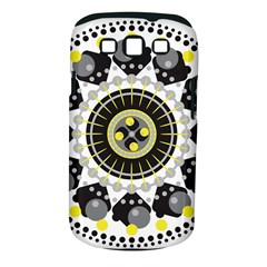Mandala Geometric Design Pattern Samsung Galaxy S Iii Classic Hardshell Case (pc+silicone) by Celenk
