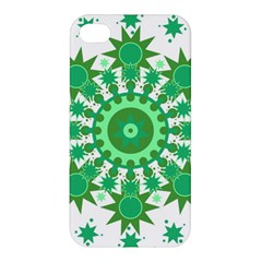Mandala Geometric Pattern Shapes Apple Iphone 4/4s Premium Hardshell Case by Celenk