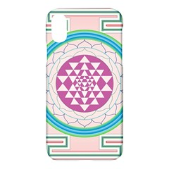 Mandala Design Arts Indian Apple Iphone X Hardshell Case by Celenk