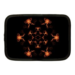 Mandala Fire Mandala Flames Design Netbook Case (medium)  by Celenk