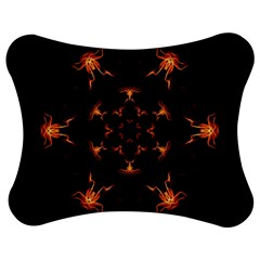 Mandala Fire Mandala Flames Design Jigsaw Puzzle Photo Stand (bow) by Celenk