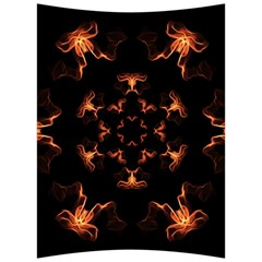 Mandala Fire Mandala Flames Design Back Support Cushion by Celenk