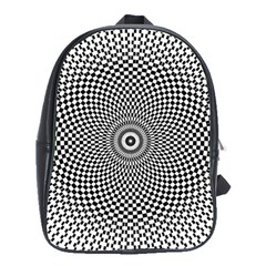 Kaleidoscope Pattern Kaleydograf School Bag (large)