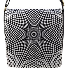 Kaleidoscope Pattern Kaleydograf Flap Messenger Bag (s)