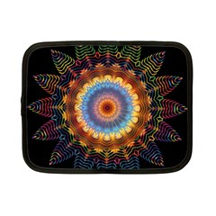 Colorful Prismatic Chromatic Netbook Case (small)