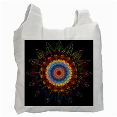 Colorful Prismatic Chromatic Recycle Bag (one Side) by Celenk