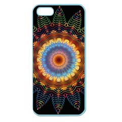 Colorful Prismatic Chromatic Apple Seamless Iphone 5 Case (color)