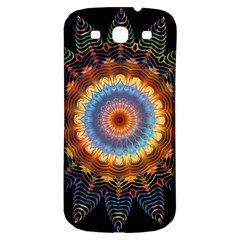 Colorful Prismatic Chromatic Samsung Galaxy S3 S Iii Classic Hardshell Back Case by Celenk