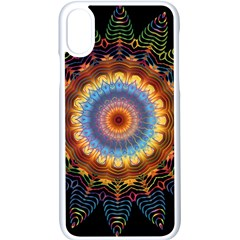 Colorful Prismatic Chromatic Apple Iphone X Seamless Case (white)