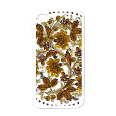 Mandala Metallizer Art Factory Apple Iphone 4 Case (white)