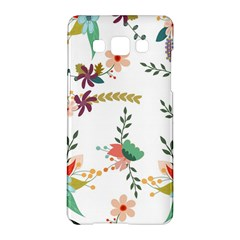 Floral Backdrop Pattern Flower Samsung Galaxy A5 Hardshell Case  by Celenk