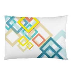 The Background Wallpaper Design Pillow Case (two Sides)