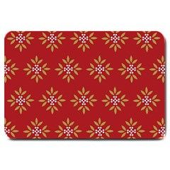 Pattern Background Holiday Large Doormat