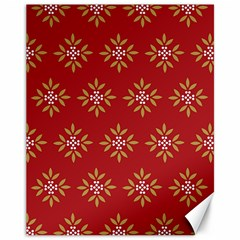 Pattern Background Holiday Canvas 11  X 14