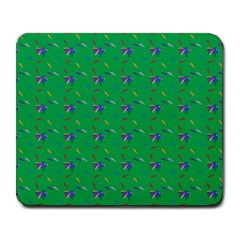 Bird Blue Feathers Wing Beak Large Mousepads by Celenk