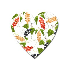Juicy Currants Heart Magnet by TKKdesignsCo