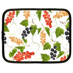 Juicy Currants Netbook Case (xxl)  by TKKdesignsCo