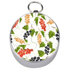 Juicy Currants Silver Compasses by TKKdesignsCo