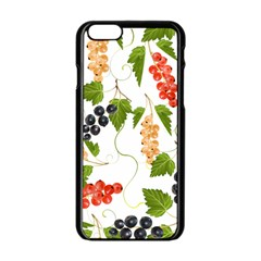 Juicy Currants Apple Iphone 6/6s Black Enamel Case by TKKdesignsCo
