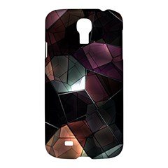 Crystals Background Design Luxury Samsung Galaxy S4 I9500/i9505 Hardshell Case