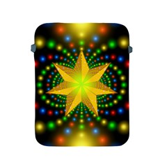 Christmas Star Fractal Symmetry Apple Ipad 2/3/4 Protective Soft Cases