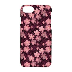 Cherry Blossoms Japanese Style Pink Apple Iphone 8 Hardshell Case