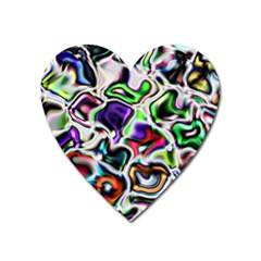 Background Texture Pattern Heart Magnet