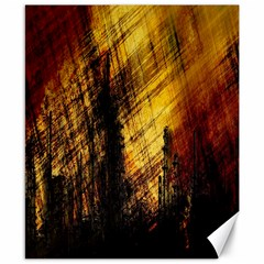 Refinery Oil Refinery Grunge Bloody Canvas 8  X 10