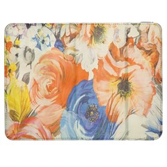 Texture Fabric Textile Detail Samsung Galaxy Tab 7  P1000 Flip Case by Celenk