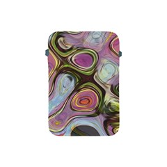 Retro Background Colorful Hippie Apple Ipad Mini Protective Soft Cases by Celenk