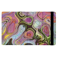 Retro Background Colorful Hippie Apple Ipad Pro 9 7   Flip Case by Celenk