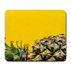 Pineapple Raw Sweet Tropical Food Large Mousepads by Celenk