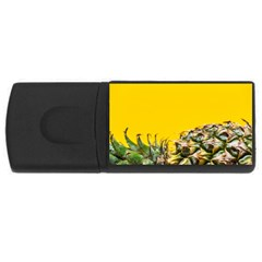 Pineapple Raw Sweet Tropical Food Rectangular Usb Flash Drive by Celenk