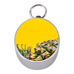 Pineapple Raw Sweet Tropical Food Mini Silver Compasses by Celenk