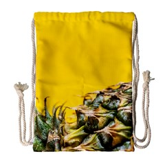 Pineapple Raw Sweet Tropical Food Drawstring Bag (large) by Celenk