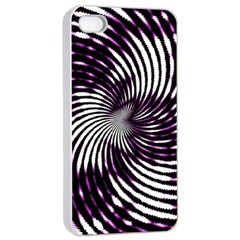 Background Texture Pattern Apple Iphone 4/4s Seamless Case (white)